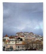 A City Portrait  Fleece Blanket