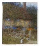 A Cottage Near Godalming Surrey Fleece Blanket