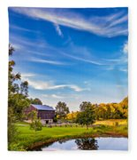 A Country Place 3 Fleece Blanket