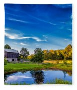 A Country Place Fleece Blanket