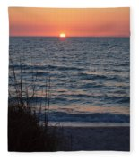 A Country Sunset Fleece Blanket