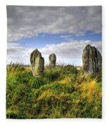 Song Of The Stones Fleece Blanket