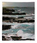 A Dangerous Coastline Fleece Blanket