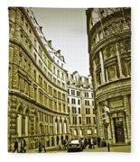 A Day In London Fleece Blanket