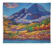 A Day In The Aspens Fleece Blanket