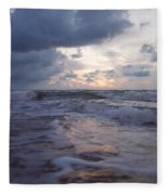 A Distant Light Fleece Blanket