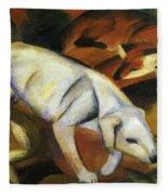 A Dog 1912 Fleece Blanket