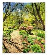 A Dose Of Spring Fleece Blanket