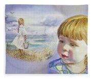 A Dream Of An Ocean Fleece Blanket