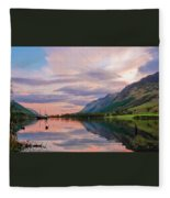 A Dreams Reflection Fleece Blanket