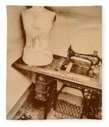 A Dressmakers Corner Fleece Blanket