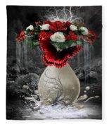 A Drop Of Nature Fleece Blanket