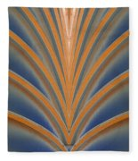 A Fan Of Art Deco Fleece Blanket