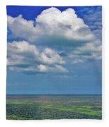 A Few Clouds In Keywest Fleece Blanket