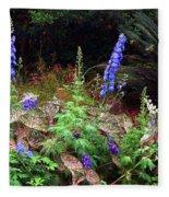 A Field Of Wildflowers Fleece Blanket