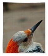 A Firey Redhead Fleece Blanket