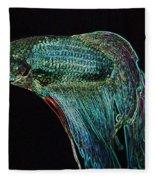 A Fish Called Poe 2 Fleece Blanket