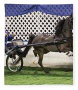 A Flashy Pony Fleece Blanket