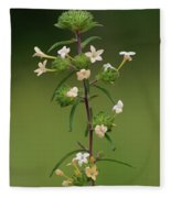 A Flower Tower Fleece Blanket