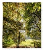 a Forest part 2 Fleece Blanket