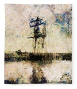 A Gallant Ship Fleece Blanket