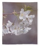 A Gentle Touch Of Spring Fleece Blanket