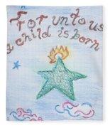 A Gift From Heaven Fleece Blanket