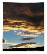 A Glorious End Of Day Fleece Blanket