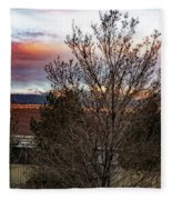 A Good Time To Rise Fleece Blanket