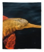 A Graceful Turn Fleece Blanket