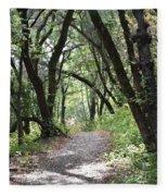 A Happy Trail Fleece Blanket