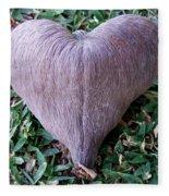 A Heart Never Dies Fleece Blanket