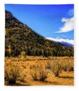A Hint Of Fall Fleece Blanket