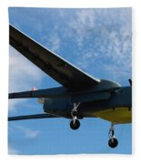 A Hunter Joint Tactical Unmanned Aerial Vehicle Fleece Blanket