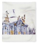 A Kettle-drum Fleece Blanket