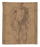 A King Of Judah And Israel  Fleece Blanket