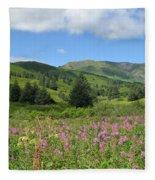 A Kodiak Moment Fleece Blanket