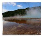 A Landscape That Seems Surreal Fleece Blanket