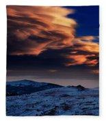 A Lenticular Landscape Fleece Blanket