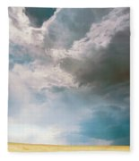 A Light In The Storm Fleece Blanket