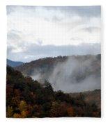 A Little Smoky Fleece Blanket
