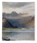 A Loch North Of Hadrian's Wall Fleece Blanket