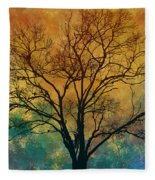 A Magnificent Tree Fleece Blanket