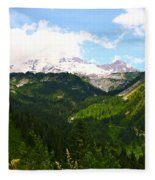 A Majestic View  Fleece Blanket