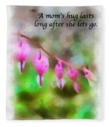 A Mom's Hug .... Fleece Blanket