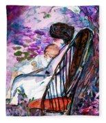 A Mothers Love Fleece Blanket