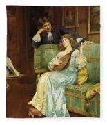 A Musical Interlude Fleece Blanket