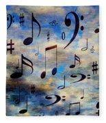 A Musical Storm 3 Fleece Blanket