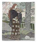 A Musician Fleece Blanket
