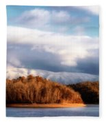 A New Day Dawns Fleece Blanket